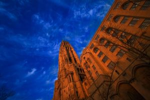 Church Sky by BillH-Photo