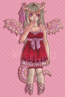 Strawberry Nettling Adopt {Closed} by LadyDragonKia