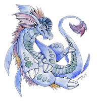 Water Dragon ... by Lumary92