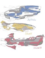 Sketch : SpaceShips 002 by ManiacPaint