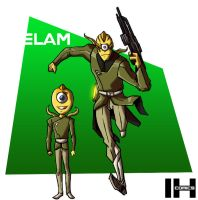 The Elam Race by IHComicsHQ