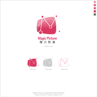 Magic Picture Logotype Preview by tuziibanez