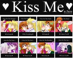 Kiss me - meme by Prettio