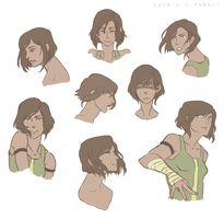 Korra by Lyre-Lightholder