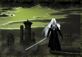 Sephiroth by CyprithTheCat