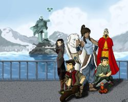 Avatar: Legend of Korra by DSerenity