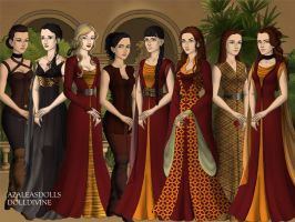 The Sand Snakes by BlackRoseOfSummer