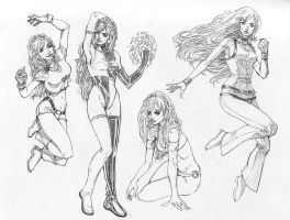 More Audrey Sketches by coolbeanfive