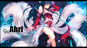 Ahri by aguilaz