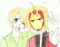 Iron man XD FMA by xnitarax