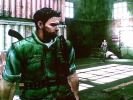 Chris redfield S.T.A.R.S. by xUmbrellaCo
