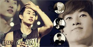 EunHyuk Wallpaper by SNSDLoveSNSD