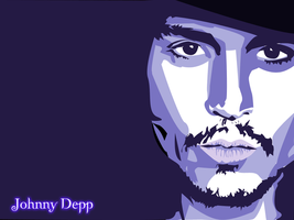 Johnny Depp - Wallpaper by thalion-lie