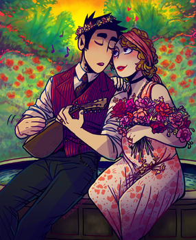 1920s Romance by Koolaid-Girl