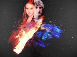 Wallpaper Clary and Jace by jassiSwan