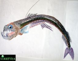 Abyssal Fish 2 by Xiakeyra
