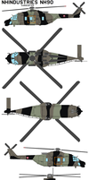NHIndustries NH90 EUROCOPTER by bagera3005