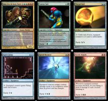 Metroid Set 2 - MTG Cards by Warrior-Within