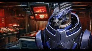 Mass Effect 3 Garrus by AgataFoxxx