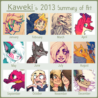 2013 Summary of Art by Ferwildir