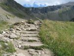 Mountain 59 - rock path by Momotte2stocks