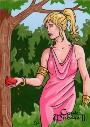 Persephone Sketch Card - Classic Mythology II