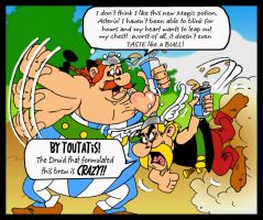 Asterix and the Energy Drink by mightyfilm