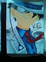 Kaito Kid Canves by MeskaChan