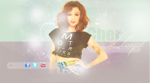 Cher Lloyd header by ThatOutlaw