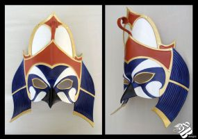 Horus Leather Mask by b3designsllc