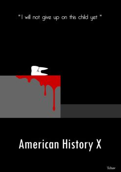 American History X Minimalist Poster by Tchav