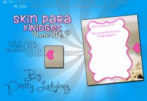 Skin NoteWandP by PrettyLadybug093