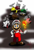 Mario by elchinoga