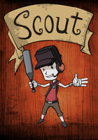 Scout in Don't Starve Style :D by XaR623