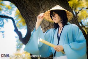 Team LupinIII Cosplay Feb2014 photo25 Goemon by Vectorolon