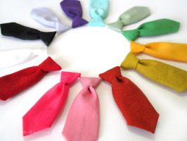 Unisex Rainbow Mini Business Tie Pin by The-Gwyllion