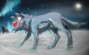 Wolves by Ink-Leviathan