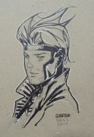 Gambit commission SDCC by Arciah