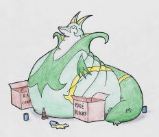 Serperior in Size by fd-d