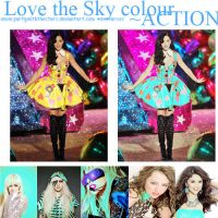 LoveTheSkyColour Action by PartyWithTheStars