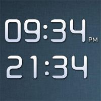 Android DigtalClock by XwidgetSkin