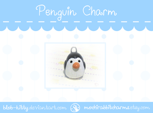 Penguin Charm by ShinyCation