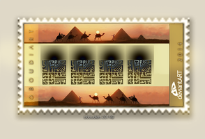 Big Stamp   2011 by oboudiart