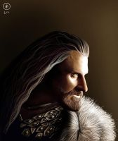 Thorin Oakenshield (Video Link) by Ondjage