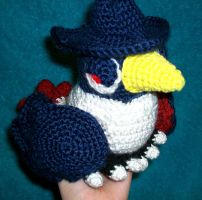 Honchkrow Crochet Plush by First-Mate-Kate