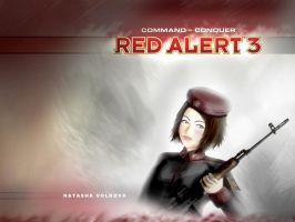 Comrade Natasha wallpaper by KaneNash