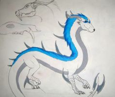 Northern Bladed Dragon | Open  Adoptable by Roraima99