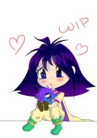 Slayers - Hugs for Zelly WIP by WhiteMagicPriestess