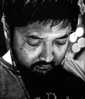 Nujabes - Rest In Peace (Oil Painting) by ADlaeyx