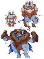 froakie evolution by nastyjungle
